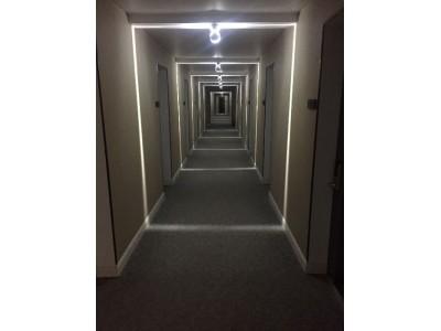 Отель «Родина»| Абхазия, Гудаутский район, Новый Афон | Корридор