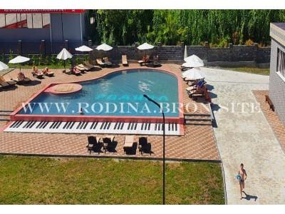 Отель «Родина»| Бассейн| Абхазия, Гудаутский район, Новый Афон