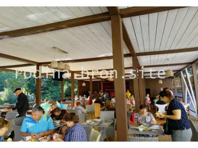 Отель «Родина»| Абхазия, Гудаутский район, Новый Афон |Ресторан- Апацха- Кафе