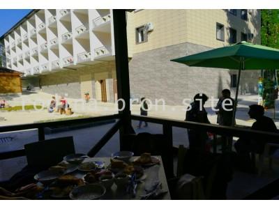 Отель «Родина»| Абхазия, Гудаутский район, Новый Афон | Внешний вид, территория